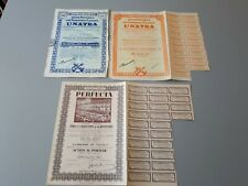 part sociale Union des transports fluviaux UNATRA et PERFECTA 1944