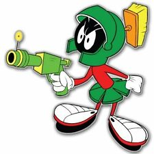 Marvin The Martian Vynil Car Sticker Decal   -4 Pack  2.5""