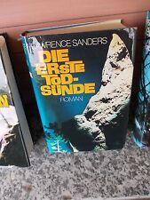 Die erste Todsünde, ein Roman von Lawrence Sanders