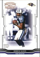 2005 Throwback Threads Football Insert/Parallel/Jersey Singles (Pick Your Cards)