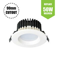 "White Commercial Recessed LED Downlight  (4W - 3"" - 320lm) Warm White 2800K"