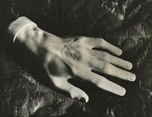Frederic Chopin-Hand Cast-Bilingual Quote-French/Spanish-Zerkowtiz-Surreal RPPC