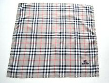 Burberrys Bandana Handkerchief Pocket Square Mini Scarf Neckerchief Nova Check