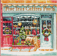 Cross Stitch Kit ~ Gold Collection Old Fashioned Coffee Shoppe / Cafe #70-08973