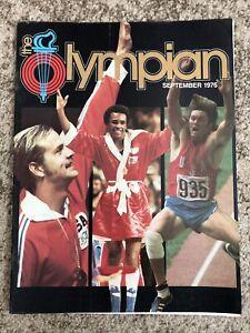 The Olympian 1976 BRUCE JENNER September Magazine Sugar Ray Leonard Olympics
