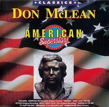 DON McLEAN : AMERICAN SUPERSTARS / CD