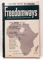 Freedomways Quarterly Review Of The Negro Freedom Movement Fall 1962 Vol 2 No 4