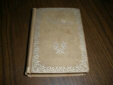 TWICE TOLD TALES NATHANIEL HAWTHORNE TWO VOLUMES IN ONE (1800'S?)