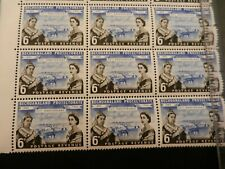 More details for bechuanaland protectorate 1960, 6d block mnh, 75th anniversary of protectorate.