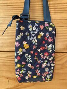 Vera Bradley - Mini Cellphone Crossbody - RFID Scattered Wildflowers