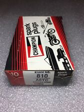 A8YC Champion Spark Plugs -Box of 10 NEW Old Stock NOS Copper Plus Stock No. 810