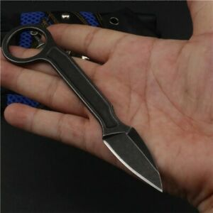 Tactical Fixed Blade Pocket Knife Unpacking Letter Knives W/Sheath Survival EDC