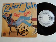 """ROBERT JOHN : Sad eyes / Give a little more 7"""" 45T 1979 French EMI 2S 008 86002"""