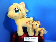 Hasbro My Little Pony Applejack 2013 large and small plush(310-2028)