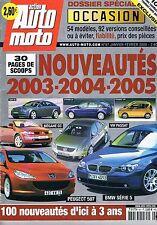 Action Auto Moto - n°97 Nouveautés 2003 2004 2005