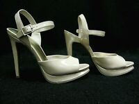"XHILARATION ~ Women's Style ""Sommer"" BLUSH / TAN ~ High Heel Shoes ~ Size 8.5 M"