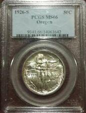 1926 S Oregon Trail Commemorative Half Dollar MS66