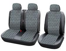 Sitzbezüge Renault Master Trafic Schonbezüge 1+2 TRANSPORTER Sitzbezug AS7343