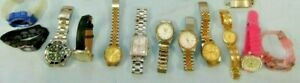 (12) Vintage Ladies Quartz Wristwatches from One Estate