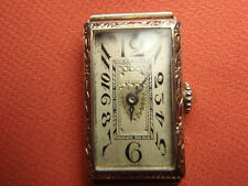 VINTAGE ART DECO PAUL VALLETTE 14K SOLID WHITE GOLD LADY'S WATCH 11.5  Grams