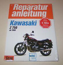 Reparaturanleitung Kawasaki Z 750 (E1, H1, E2, L1, R1, GPZ) - ab 1980!
