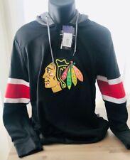 Adidas NHL Chicago BLACKHAWKS Jersey Hoodie Sweatshirt Women's Size XL NWT