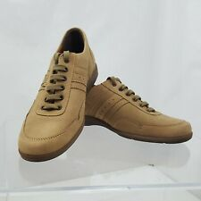 Mephisto Shoes Mens Size US 8.5 Tan New Buck Leather Sneakers