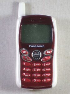 Panasonic EB GD 55 GD55 weiss rot white red / very rare / worlds smallest cell