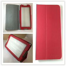 "FUNDA CARCASA PARA LENOVO TAB A1000 IDEA PAD 7"" SOSTENIBLE COLOR ROJO"