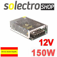 Fuente de alimentación DC 12V 12.5A 150W TIRA LED Switching Power Supply A0080