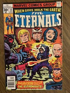 ETERNALS 13 NM 1st app Gilgamesh and One Above All Jack Kirby Bronze Marvel 1976