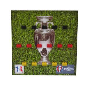 Vitrinen Einleger Magnetisch 23x23cm für LEGO Minifiguren DFB Euro 2016, Pic4
