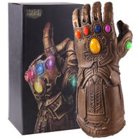 Avengers Thanos Infinity Gauntlet  Cosplay Glove with LED Light PVC Model Toy