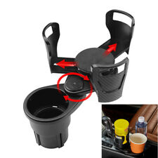 Verstellbar Doppel Auto Mittelkonsolen Getränkehalter Flaschengetränk Universal