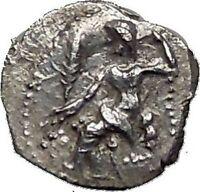 LARANDA in LYCAONIA 324BC Baaltars Wolf Genuine Ancient Silver Greek Coin i55613