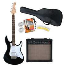 Yamaha Pacifica 012 BL Starter Set Verstärker Gitarre Kabel Gigbag Plecks Black