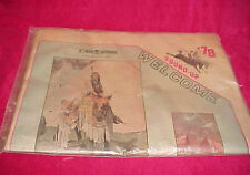 Vtg Sealed 1978 Pendleton Oregon Round Up Rodeo Newspaper East Oregonian Welcome