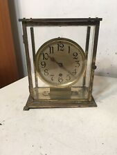 Antique Crystal Regulator Style Clock W/ Platform Escapement Restoration Project