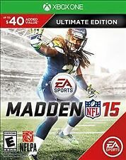 Madden NFL 15 -- Ultimate Edition (Microsoft Xbox One, 2014)