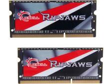 G.SKILL Ripjaws Series 16GB (2 x 8G) 204-Pin DDR3 SO-DIMM DDR3L Laptop Memory