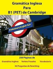 Gramatica Inglesa para B1 (PET) de Cambridge by Ian Lincoln (2017, Paperback)