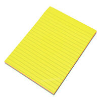 Large 20x15cm Neon Colour 150 Sticky Notes Grocery Shopping List Note Pad Block