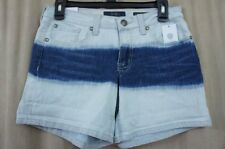 Jessica Simpson Jeanswear Shorts Sz 31 Dream Astoria Dip Dyed Bleached Low Rise