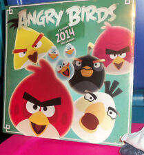 ANGRY BIRDS 2014 WALL CALENDAR- BNISW THE DAY U PAY IT SHIPS FREE