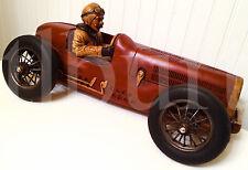 Vintage Faux Wood Racer Indy 500 Formula 1 Ferrari Fangio Marmon Wasp 1/12 Scale