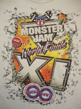 Monster Truck Jam World Finals XI 11 2010 Hot Rod Derby Souvenir T Shirt XL