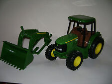"""JOHM DEERE ERTL TRACTOR 8"""" x 11"""" W/removable FRONT LOADER 8"""" x 16"""""""