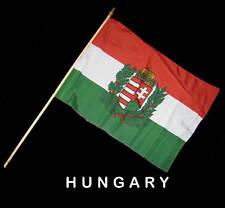 HUNGARY HUNGARIAN Hand Waver Flag - 30x45cm