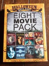 Halloween Movie Night Eight Movie Pack (DVD, 2010) Free Shipping!
