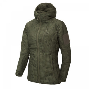 Helikon-Tex WOMEN'S WOLFHOUND Hoodie Jacket Climashield Desert Night Camo